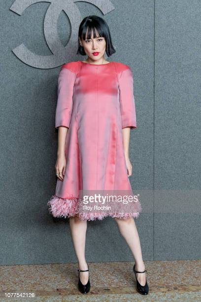 Rinko Kikuchi attends the Chanel Metiers D'Art 2018/19 Show at The Metropolitan Museum of Art on December 04 2018 in New York City