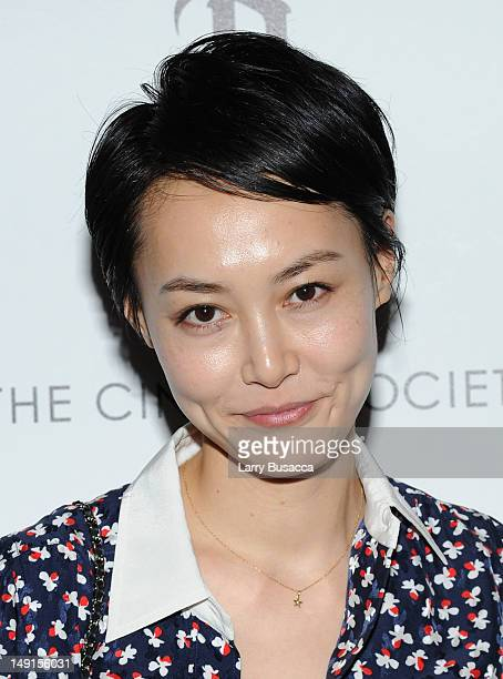 Rinko Kikuchi attends the Cinema Society with Bally DeLeon hosted screening of LD Entertainment's Killer Joe at the Tribeca Grand Hotel Screening...