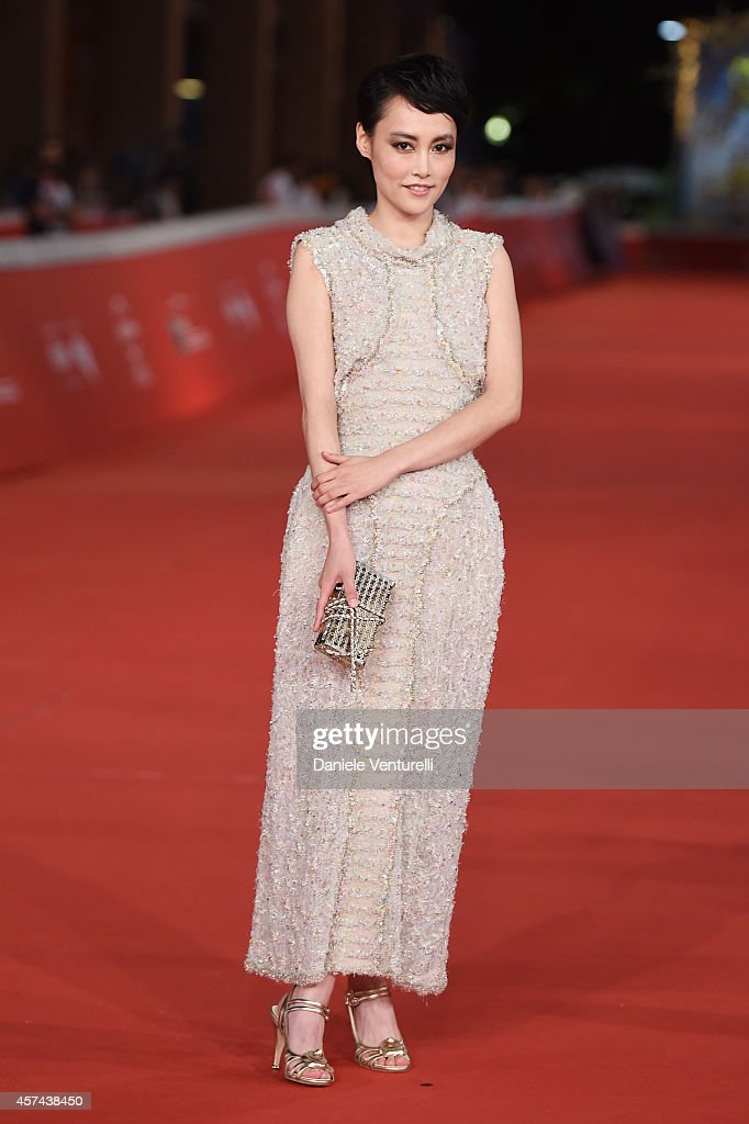 Rinko Kikuchi attends the 'Last Summer' Red Carpet during The 9th Rome Film Festival at Auditorium Parco della Musica on October 18, 2014 in Rome, Italy.