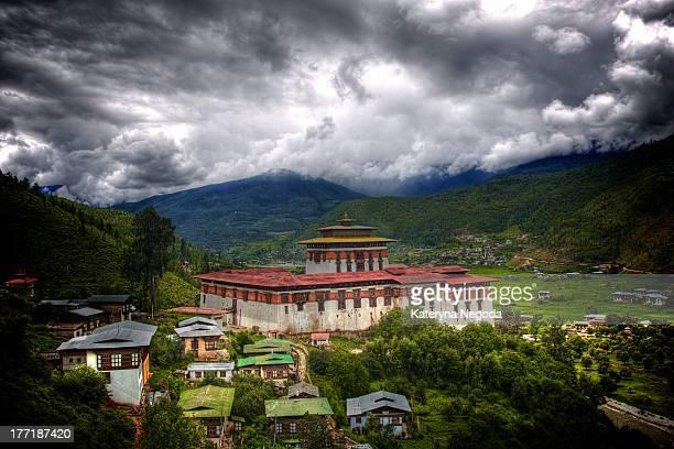 Rinpung Dzong at Paro, Bhutan