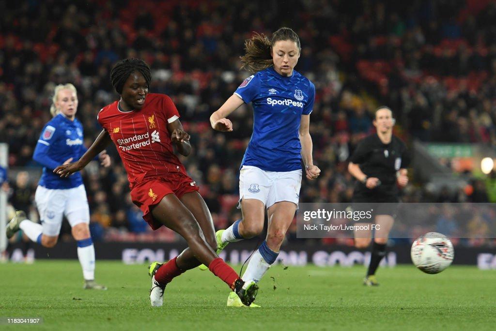 Liverpool v Everton - Barclays FA Women's Super League : Nachrichtenfoto