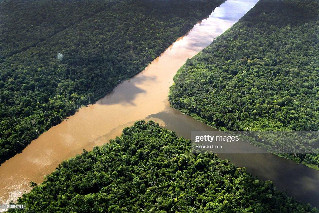 Rio Amazonas : Stock Photo