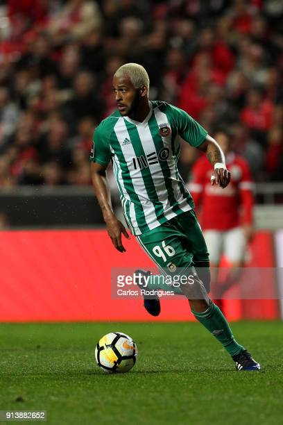 Rio Ave FC defender Marcao from Brazil during the match between SL Benfica and Rio Ave FC for the Portuguese Primeira Liga at Estadio da Luz on...