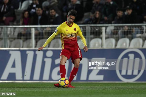 Rio Ave FC defender Nelson Monte from Portugal during the match between Portimonense SC and Rio Ave FC for the Portuguese Primeira Liga at Portimao...