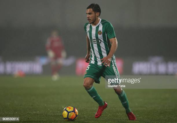 Rio Ave FC defender Yuri Ribeiro from Portugal in action during the Primeira Liga match between Rio Ave FC and Boavista FC at Estadio dos Arcos on...