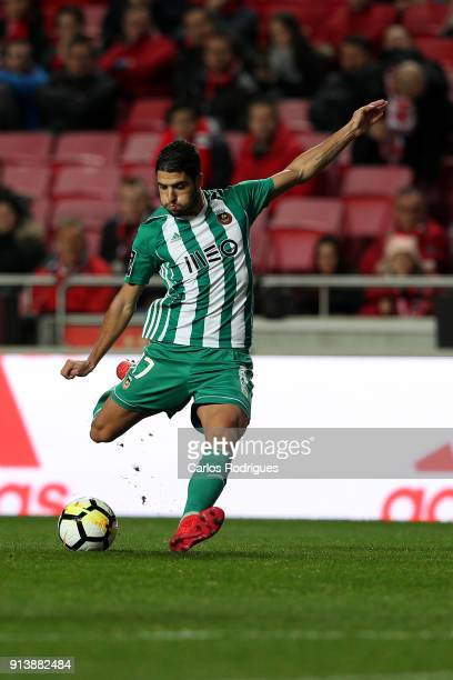 Rio Ave FC midfielder Joao Novais from Portugal during the match between SL Benfica and Rio Ave FC for the Portuguese Primeira Liga at Estadio da Luz...