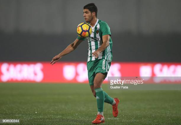Rio Ave FC midfielder Joao Novais from Portugal in action during the Primeira Liga match between Rio Ave FC and Boavista FC at Estadio dos Arcos on...