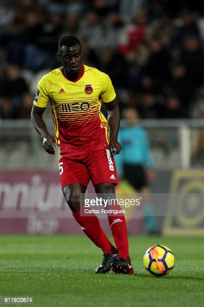 Rio Ave FC midfielder Pele from Guinea Bissau during the match between Portimonense SC and Rio Ave FC for the Portuguese Primeira Liga at Portimao...
