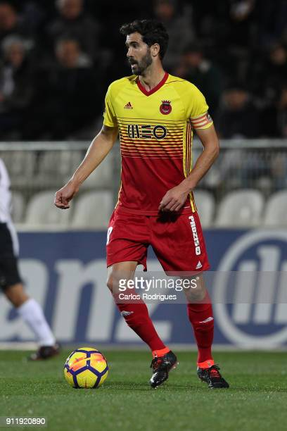 Rio Ave FC midfielder Tarantini from Portugal during the match between Portimonense SC and Rio Ave FC for the Portuguese Primeira Liga at Portimao...