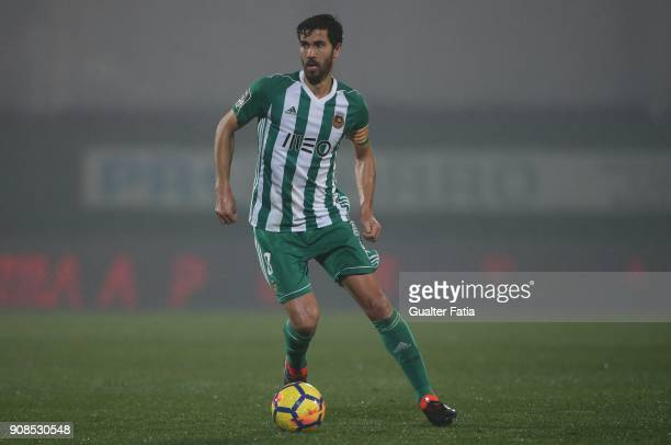 Rio Ave FC midfielder Tarantini from Portugal in action during the Primeira Liga match between Rio Ave FC and Boavista FC at Estadio dos Arcos on...