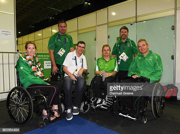 Rio Brazil 10 September 2016 Rena McCarron Rooney of Ireland after her SF1 2 Women's Singles Quarter Final against SuYeon Seo of Republic of Korea...