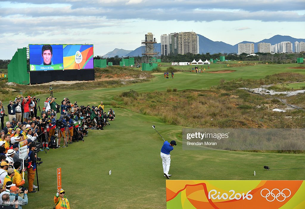 Rio 2016 Olympic Games - Day 6 - Golf : ニュース写真