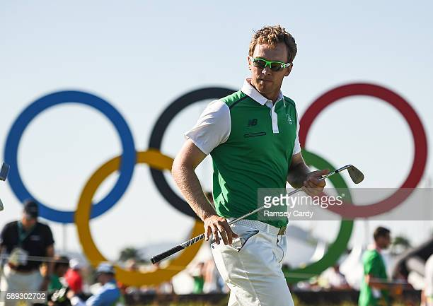 Rio , Brazil - 13 August 2016; Seamus Power of Ireland on the 17th during Round 3 of the Men's Strokeplay competition at the Olympic Golf Course,...