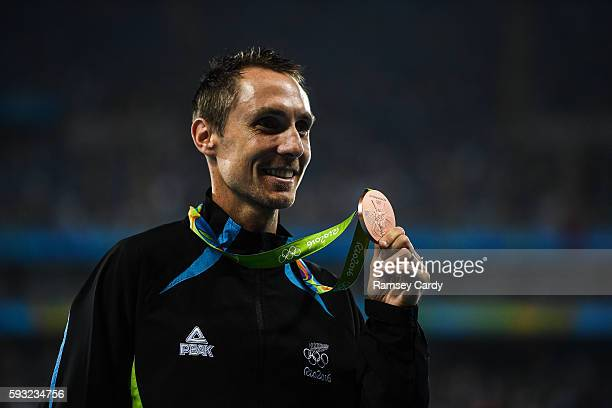 Rio , Brazil - 20 August 2016; Nicholas Willis of New Zealand following his third place in the Men's 1500m final in the Olympic Stadium during the...