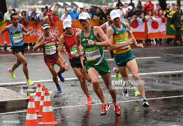 Rio Brazil 21 August 2016 Kevin Seaward of Ireland in action during the Men's Marathon during the 2016 Rio Summer Olympic Games in Rio de Janeiro...