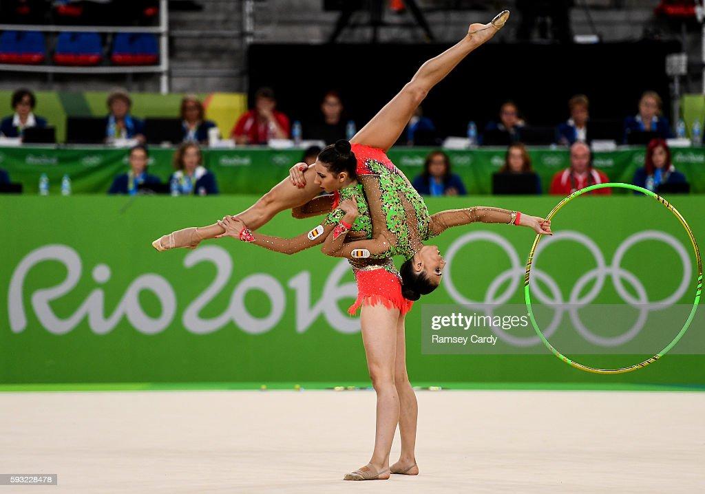 Rio 2016 Olympic Games - Day 16 - Rhythmic Gymnastics : ニュース写真