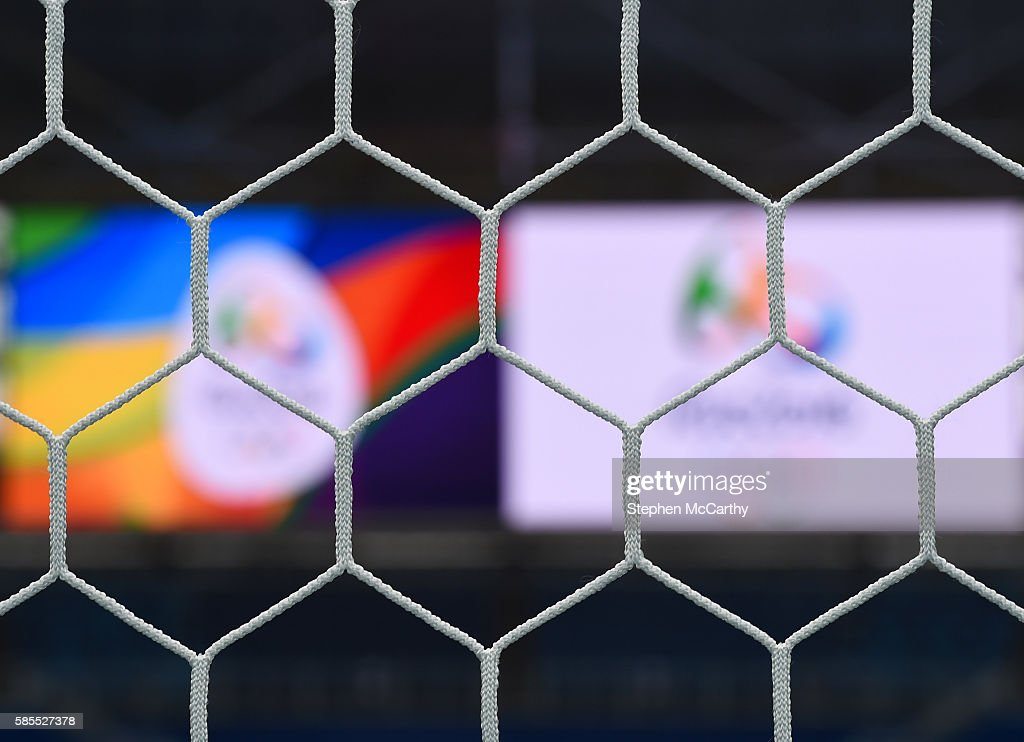 Rio 2016 Olympic Games - Sweden v South Africa: Women's Football - Day -2 : News Photo