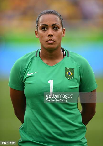 Rio Brazil 3 August 2016 Barbara of Brazil during the Women's Football first round Group E match between Brazil and China on Day 2 of the Rio 2016...