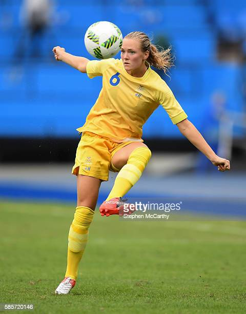 Rio Brazil 3 August 2016 Magdalena Eriksson of Sweden during the Women's Football first round Group E match between Sweden and South Africa on Day 2...
