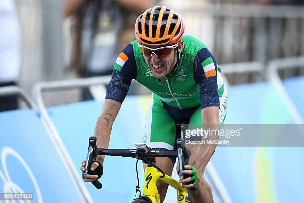Rio Brazil 6 August 2016 Dan Martin of Ireland after the Men's Road Race during the 2016 Rio Summer Olympic Games in Rio de Janeiro Brazil