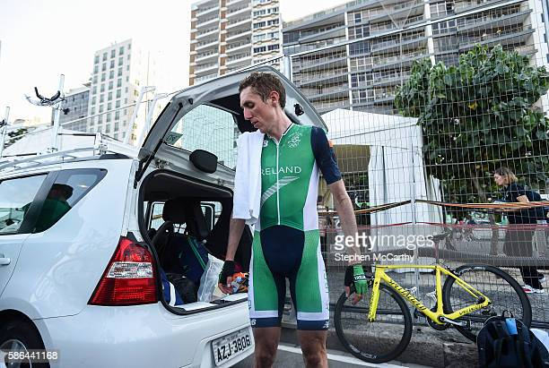 Rio Brazil 6 August 2016 Dan Martin of Ireland following the Men's Road Race at Fort Copacabana during the 2016 Rio Summer Olympic Games in Rio de...
