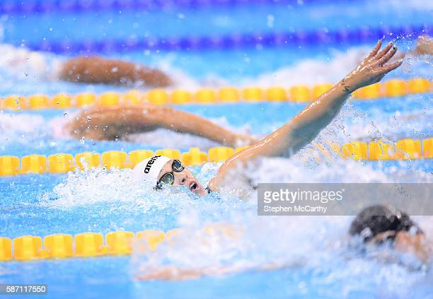 Rio Brazil 7 August 2016 Sarah Kohler of Germany competes in the heats of the women's 400m freestyle event at the Olympic Aquatic Stadium during the...