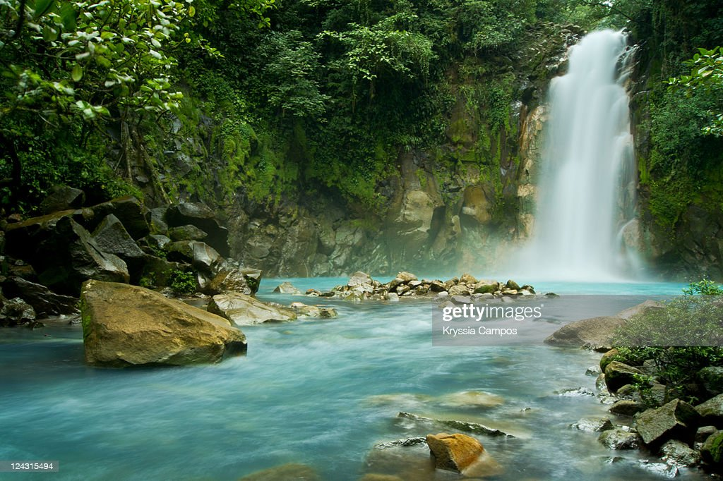 Rio Celeste Falls : Stock Photo