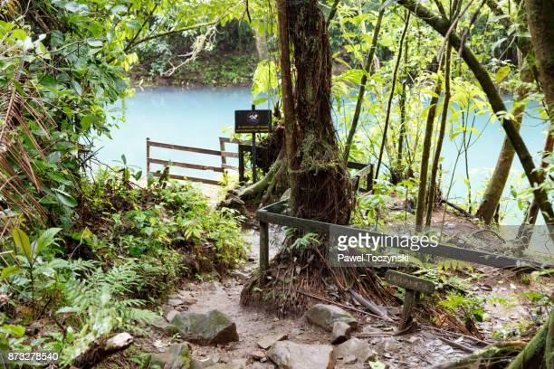 Rio Celeste in Tenorio Volcano National Park, Costa Rica