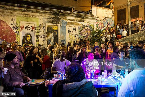 Located in the port area of Rio in the Morro da Conceição vicinity the Pedra do Sal is one of the main points of resistance of black culture The site...