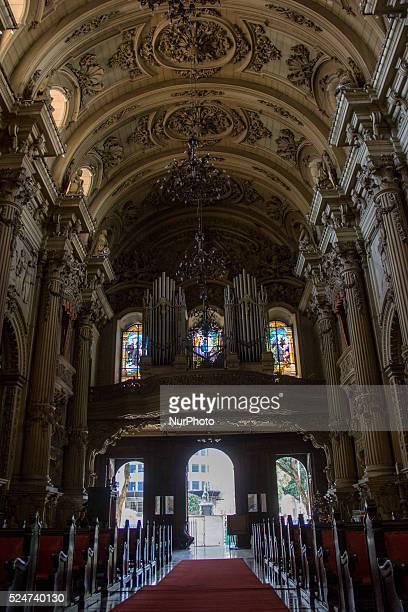 Rio de Janeiro Brazil December 23 2015 The center of Rio de Janeiro has dozens of ancient and historical Catholic churches A good tourist option for...