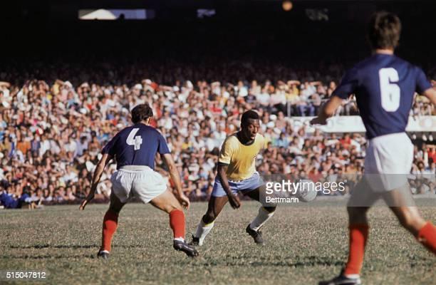 Rio de Janeiro, Brazil: Football king Pele played his last game for the Brazilian national team at Maracana Stadium.