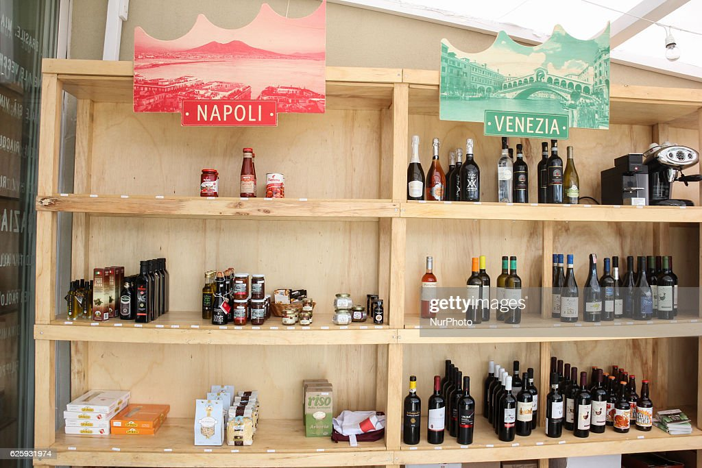 1st Week of Gastronomy of Italy in the World - Rio de Janeiro : News Photo