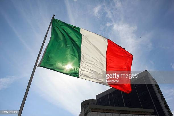 Rio de Janeiro, Brazil, November 25, 2016: Ministry of Foreign Affairs of Italy promotes the First Week of Italian Gastronomy in the World. In the...
