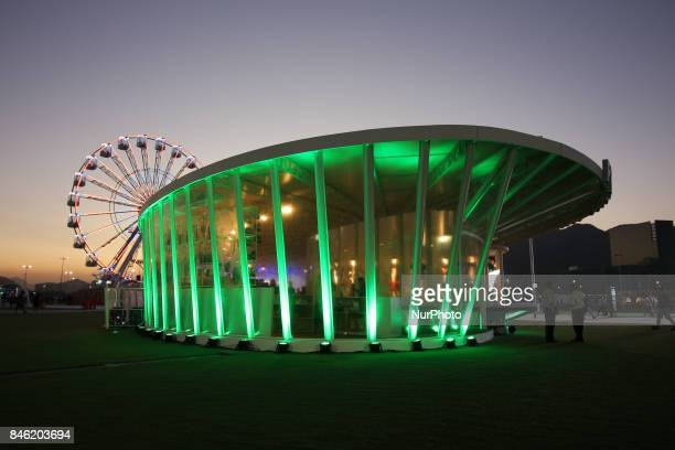Rio de Janeiro Brazil September 12 2017 Rock City View where the Rock in Rio 2017 will be held between 15 and 24 September The Rock In Rio is one of...