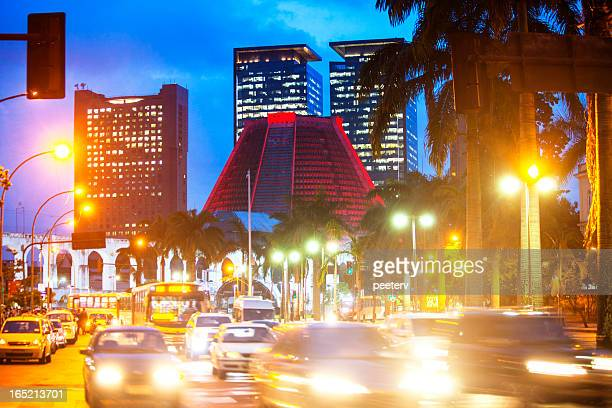 rio de janeiro by night. - limpet stock pictures, royalty-free photos & images