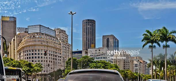 Rio de Janeiro - Downtown buildings near Aterro do Flamengo