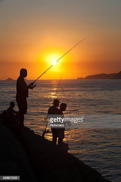 Rio de Janeiro. Fishing.