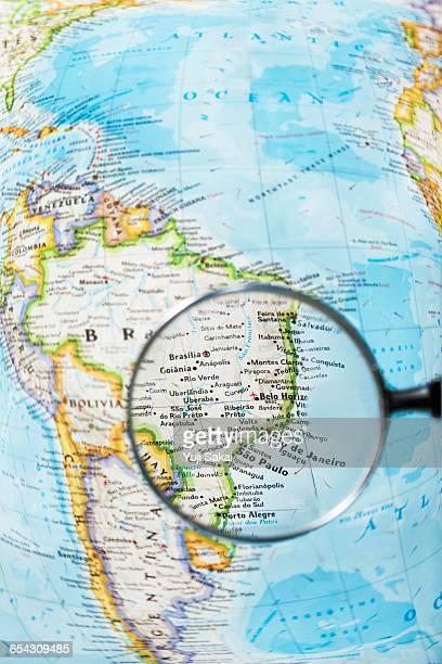 Rio de Janeiro  in BRASILIA  and Magnifying glass