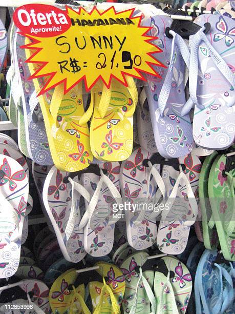 Rio de Janeiro is known for selling popular Havaianas flip flops Havaianas come in every style color · and price