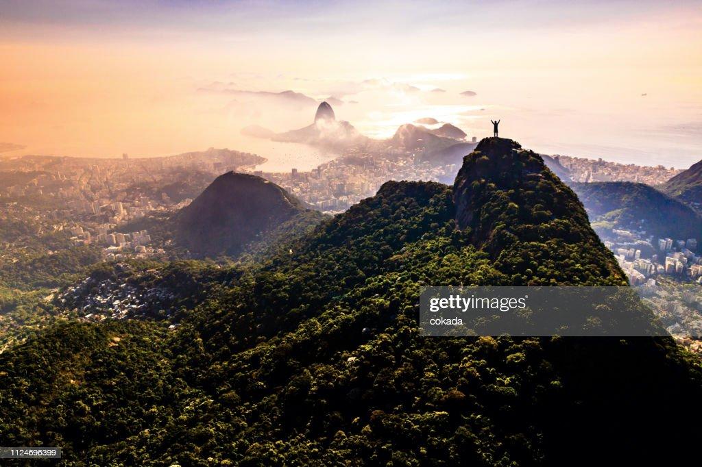 Paisagem do Rio de Janeiro : Foto de stock