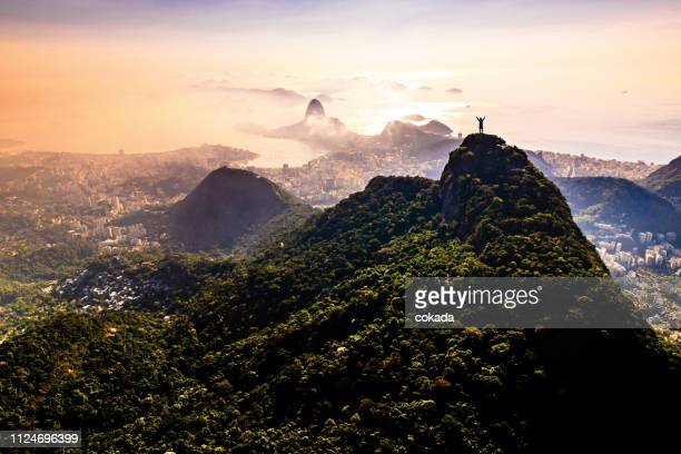 rio de janeiro landscape - latin america stock pictures, royalty-free photos & images