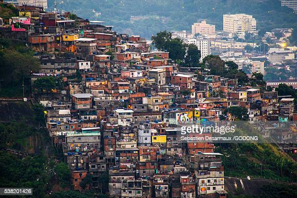 rio de janeiro - favela stock pictures, royalty-free photos & images