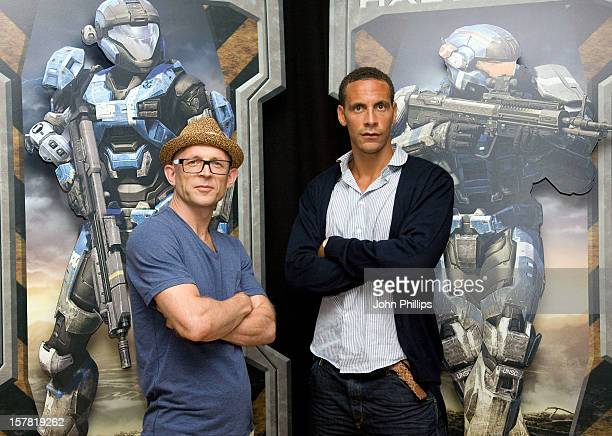 Rio Ferdinand And Jason Bradbury Reveal The Elite Spartan Squad For The Launch Of Halo: Reach, Out Exclusively On Xbox 360, The Auditorium, Churchill...
