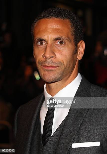 Rio Ferdinand attends the UK Premiere of 'Dead Man Running' at Odeon Leicester Square on October 22, 2009 in London, England.