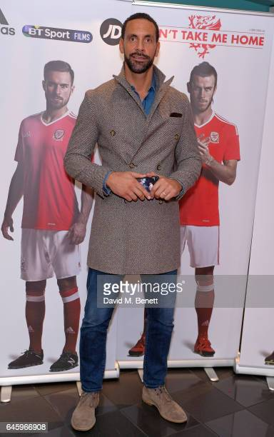 Rio Ferdinand attends the UK Premiere of 'Don't Take Me Home' on February 27 2017 in London England