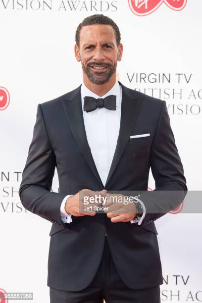 Rio Ferdinand attends the Virgin TV British Academy Television Awards at The Royal Festival Hall on May 13 2018 in London England