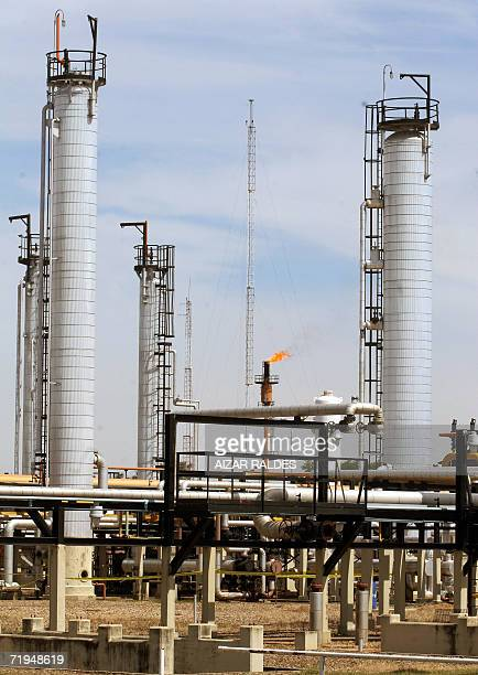 Picture of the Spanish Repsol YPF gas and oil refinery Rio Grande Santa Cruz taken 04 May 2006 Spanish energy giant Repsol YPF said on Thursday it...