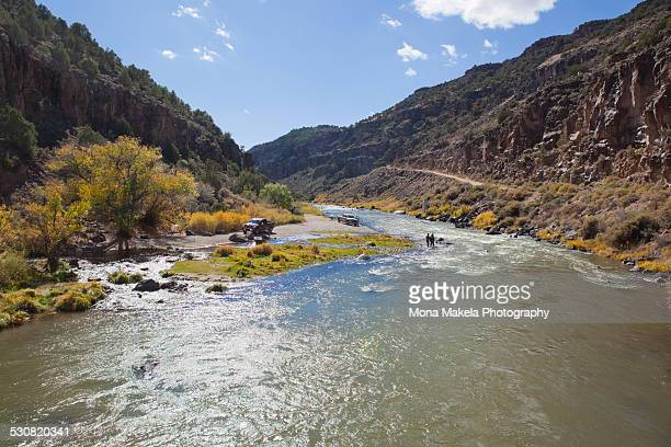 Rio Grande in Arroyo Hondo, New Mexico