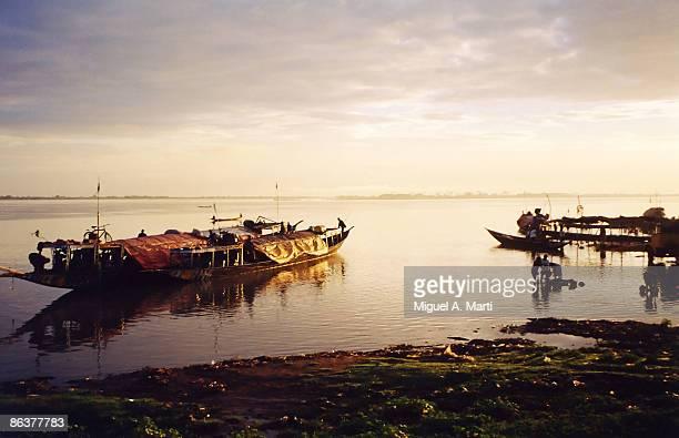 Rio Níger, cerca de Segou (Mali) - Niger river nea