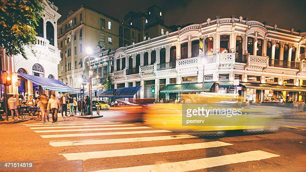 rio nightlife. - limpet stock photos and pictures